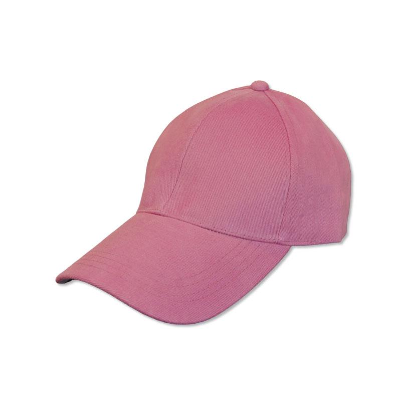 หมวกแก๊ปเปล่า สีพื้น สีกลีบบัว by Season Tales