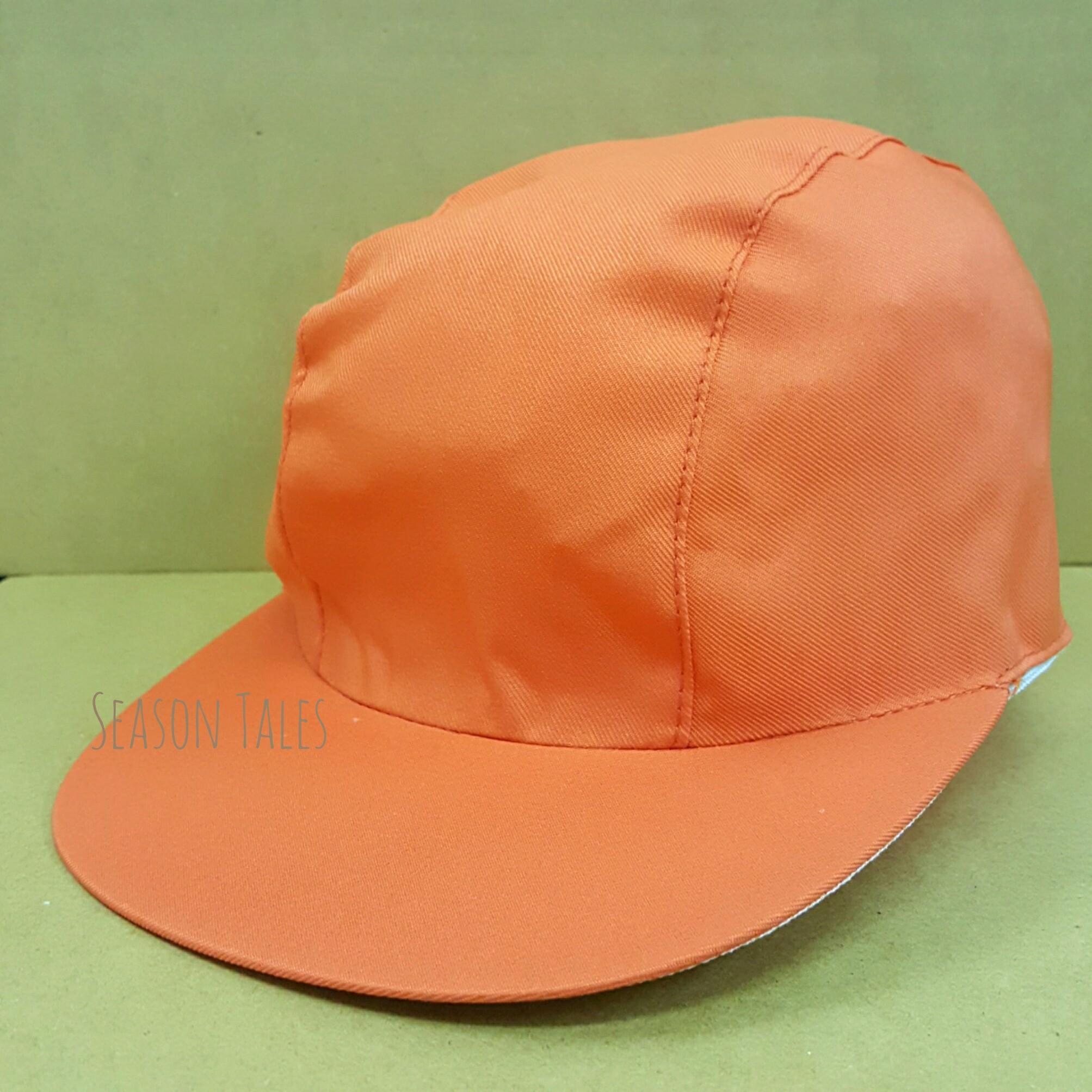 หมวกแก๊ป กีฬาสี สีส้ม ราคาถูกสุดๆ (สั่งในเว็บไม่ได้ สั่งผ่านLine/Telเท่านั้น)
