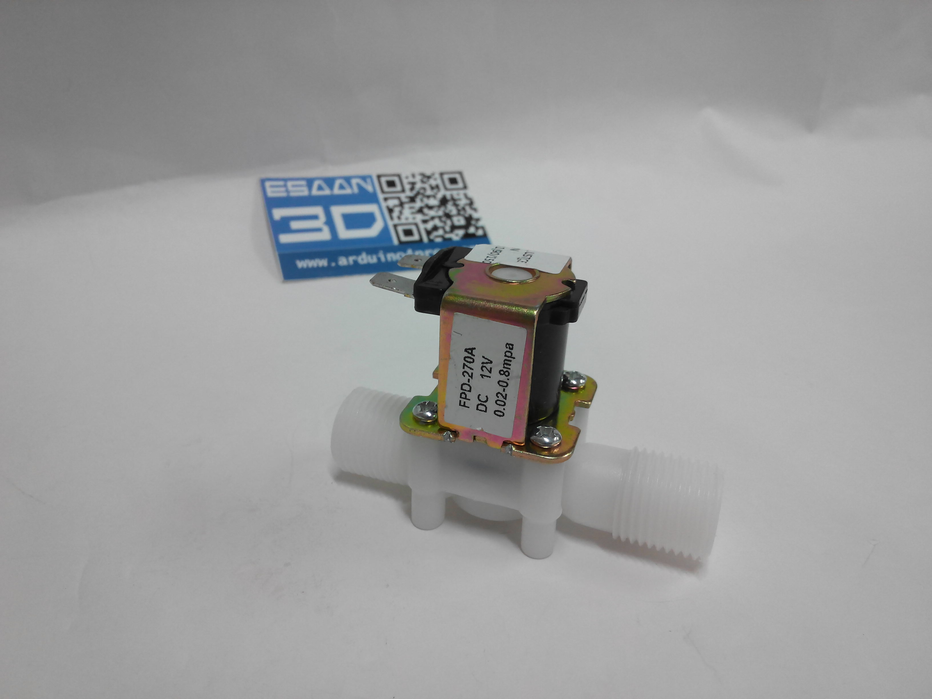 Electric Solenoid Valve Normally Closed DC 12V