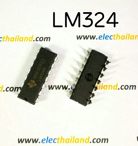 LM324 Quad Operational Amplifier IC