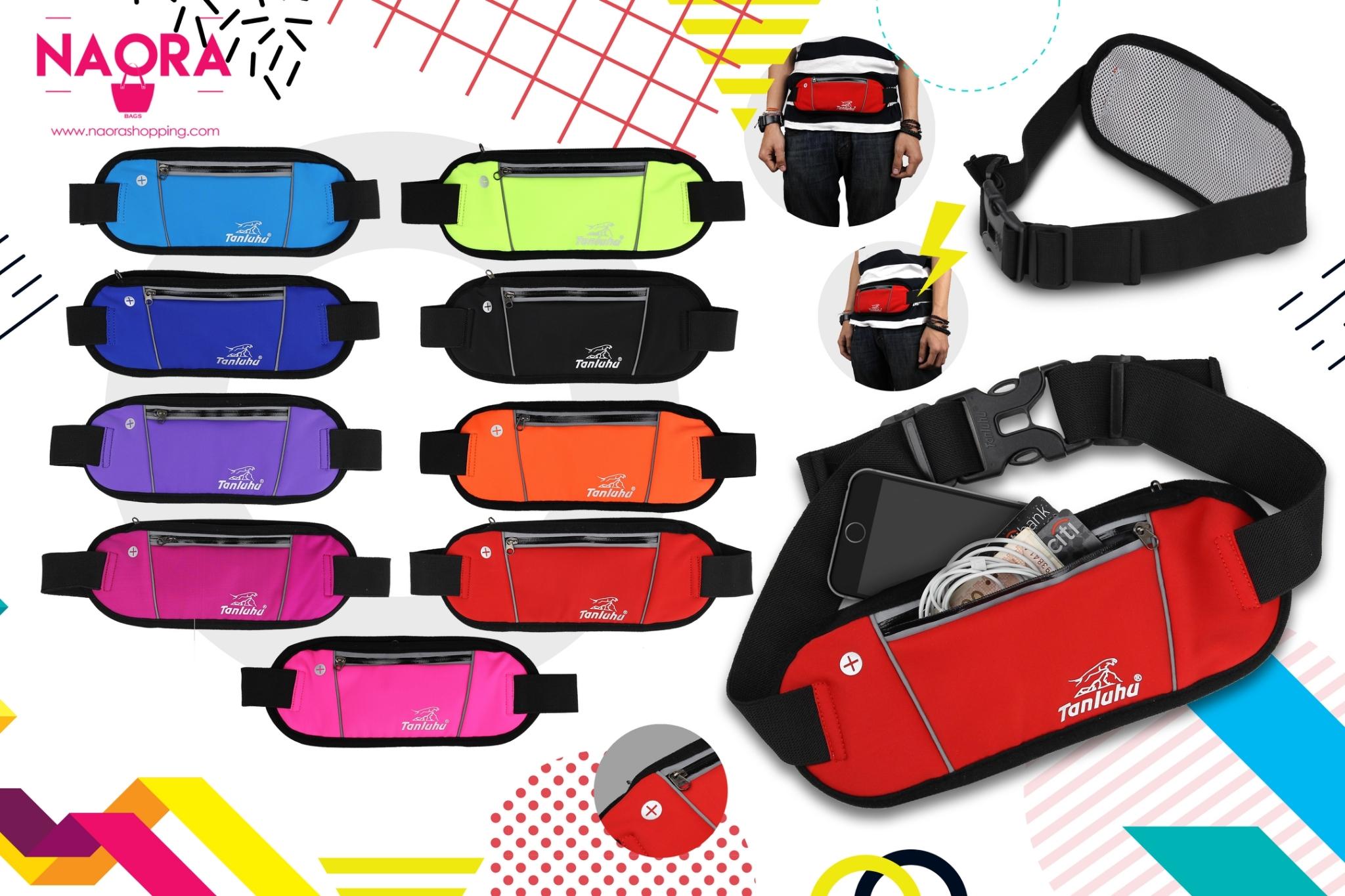 กระเป๋าคาดเอว Sport Tanluhu 1 ซิป