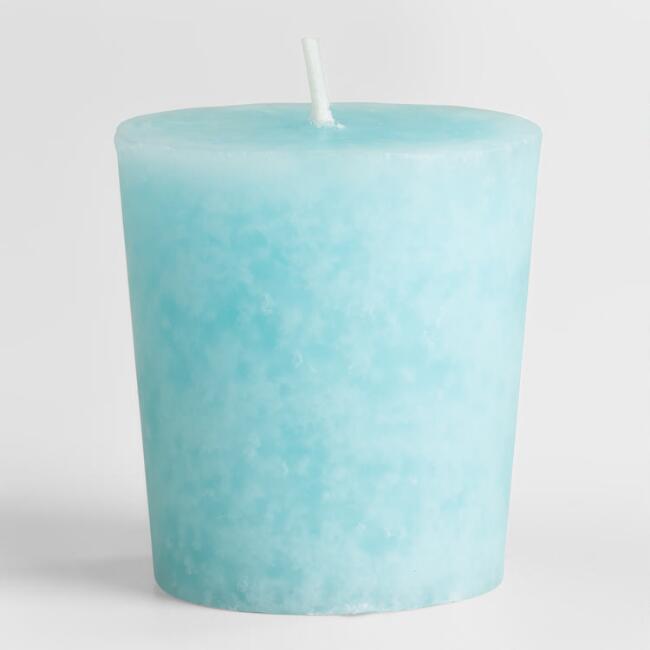 เทียนโวทีฟ [VOTIVE Candle] กลิ่นสะอาด [Clean Cotton ] 6 ชิ้นต่อแพ็ค