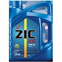 Zic X5 10W30 ดีเซล10,000กิโล ขนาด 6 ลิตร