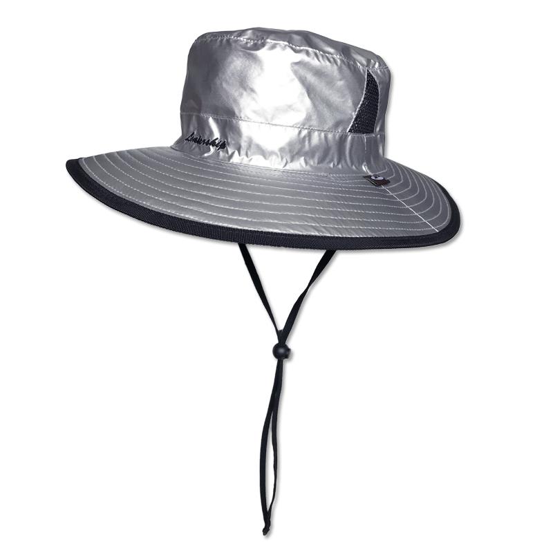 หมวกกันUV กันยูวี หมวกปีกรอบ ตาข่ายข้าง เดินป่า ตกปลา by Season Tales