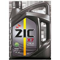 Zic X7 10W40 ดีเซล12,000กิโล ขนาด 1 ลิตร