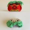 ผ้าห่อเบนโตะ Furoshiki ลายเชิดสิงโต - ขโมยสีเขียว