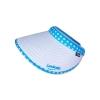 หมวกกอล์ฟ หมวกกันUV หมวกไวเซอร์ ผ้าDupont สีขาว (ลายจุด สีฟ้า) by Season Tales