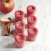 เทียนโวทีฟ [ Votive Candle] สีแดงกลิ่นแอปเปิ้ลซินนามอล [ Apple Cinnamon ]