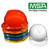Safety Helmet V-Gard Cap ANSI (China) รองในปรับหมุน พร้อมสายรัดคาง 2 จุด
