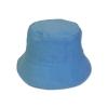 หมวก bucket หมวกบักเก็ต ปีกรอบ สีพื้น (สีฟ้ายีน) by Season Tales