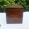 Rectangular 3 stages Lacquered Hemlock Bento Box กล่องข้าวญี่ปุ่นสี่เหลี่ยมสีไม้คลาสสิค 3 ชั้น