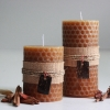 เทียนหอมรวงผึ้ง เทียนแฟนซี Bee Hive Pillar Candle