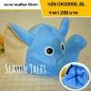 หมวกเด็ก หมวกตุ๊กตาช้าง สีฟ้า