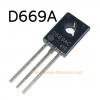 D669 NPN TRANSISTOR 180V 1.5A