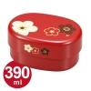 Plum Bento Box in Red - เบนโตะญี่ปุ่นลายดอกพลัม สีแดง