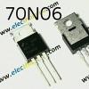 70N06 N Channel Power Mosfet 60V 70A