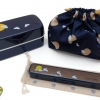Rabbit Bento Box Japanese-style Set - เซตกล่องเบนโตะญี่ปุ่นลายกระต่าย รวมชุดช้อนตะเกียบ สีกรมท่า