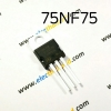 T138: 75NF75 P75NF75 N Mosfet TO220 75V/80A