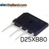 D25XB80 Bridge Rectifiers 600V 25A
