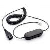 Jabra GN1216 Coiled Cord For Avaya 1600, 9600