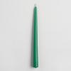 เทียนเทปเปอร์สีเขียว Green Taper Candle: Pack of 6