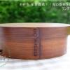Original Oval Lacquered Bending magewappa bento box กล่องข้าวญี่ปุ่นวงรีสีไม้คลาสสิค 1 ชั้น