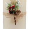 Ivory Rustic Pillar [ Vanilla Sudeu]