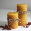 เทียนหอมลวดลายรังผึ้ง [Honey Comb Craft Candle]