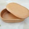 Hakone Beech Bento Box กล่องข้าวญี่ปุ่นทรงรีสีไม้ 1 ชั้น