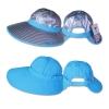 หมวกกันUV กันแดด ปีกกว้างพิเศษ ใส่ได้ 2ด้าน (สีเงิน/ฟ้า) by Season Tales