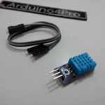 DHT11 Temperature and Relative Humidity Sensor Module With Cable