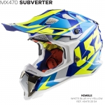 MX470 SUBVERTER NIMBLE WHITE BLUE YELLOW