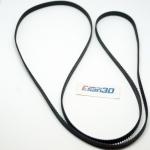 สายพาน timing belt width 6mm แบบ close loop 1140-2GT-6