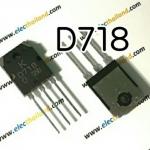 D718 NPN TRANSISTOR 120V/10A