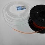 PTFE Teflon Tubes แบบใส สำหรับ 1.75mm (65 บาท / เมตร)