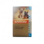ยาหยด Advercate สุนัข size 4-10 kg