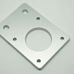 Aluminum plate for Nema17