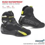 TCX RUSH WATERPROOF BLACK - YELLOW FLUO