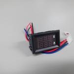 DC 0-100V 10A Digital Voltmeter & Amp-meter / Red Blue LED Dual display Meter