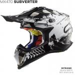MX470 SUBVERTER INTRUDER BLACK WHITE