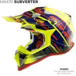 MX470 SUBVERTER BOMBER YELLOW BLUE RED