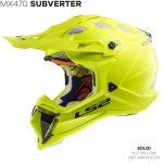 MX470 SUBVERTER SINGLE MONO HI-VIS YELLOW