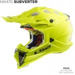 MX470 SUBVERTER SINGLE MONO HI-VIS YELLOW