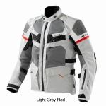 Rev'it Cayenne Pro Light Grey-Red
