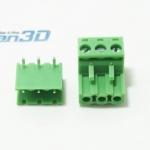 Plug-in Terminal Block 3 Pins (ชุดผู้และเมีย)