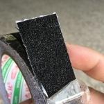 เทปกันลื่น สีดำ กว้าง 1 นิ้ว x ยาว 5 เมตร