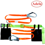 เข็มขัดนิรภัย Safety Belt Large Hook Adela Double Webbing Lanyard