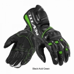 Rev'it JERZ PRO Black-Acid-Green