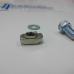 ชุดน็อตยึดร่อง M6 (Free-Nut) อลูมิเนียมโปรไฟล์ สำหรับ 3030