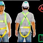 เข็มขัดนิรภัย Safety Harness Adel H4501 1D-Ring